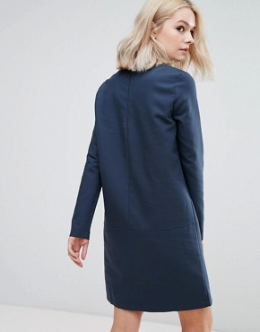 photo Sweater Dress by Vila, color Navy - Image 2