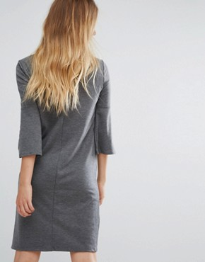 photo Ruffle Sleeve Dress by Vila, color Grey - Image 2