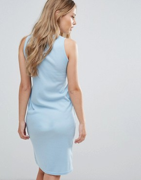 photo Sleeveless Dress with Tie Waist by Daisy Street, color Blue - Image 2