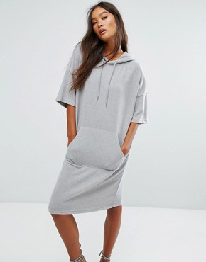 photo Sweater Dress by Noisy May, color Grey - Image 1