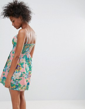photo Tropical Sundress by Urban Bliss, color Multi - Image 2