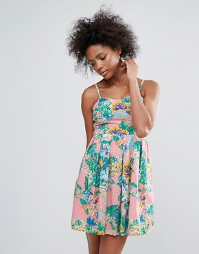 photo Tropical Sundress by Urban Bliss, color Multi - Image 1