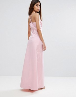 photo Embroidered Maxi Dress by Y.A.S Studio, color Pink - Image 2