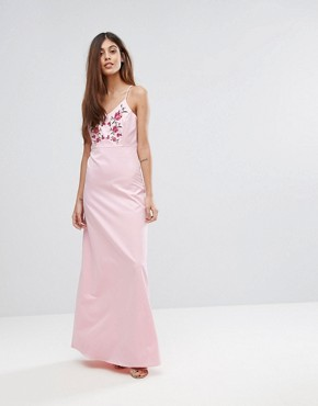 photo Embroidered Maxi Dress by Y.A.S Studio, color Pink - Image 4