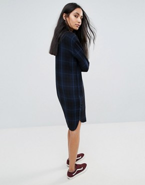 photo Louise Checked Shirt Dress by Pepe Jeans, color Multi - Image 2