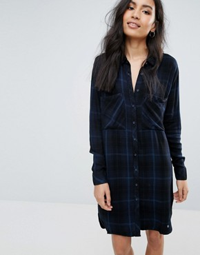 photo Louise Checked Shirt Dress by Pepe Jeans, color Multi - Image 1