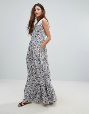photo Isleton Maxi Dress by Valley Of The Dolls, color Multi - Image 1