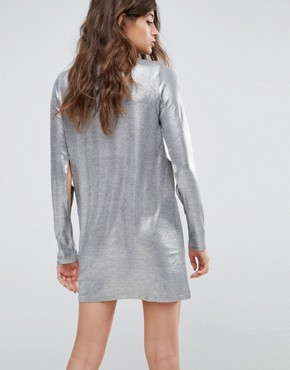 photo Sound Dress by Cheap Monday, color Silver - Image 2