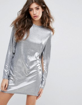 photo Sound Dress by Cheap Monday, color Silver - Image 1
