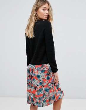 photo Knitted Floral Skirt Dress by PS by Paul Smith, color Floral Multi - Image 2