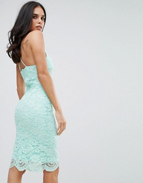 photo Lace Midi Dress by Forever Unique, color Green - Image 2