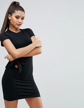 photo Knot Dress by Kendall + Kylie, color Black - Image 1