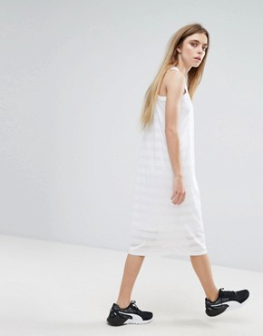 photo Burn Out Tank Dress by Puma, color White - Image 2