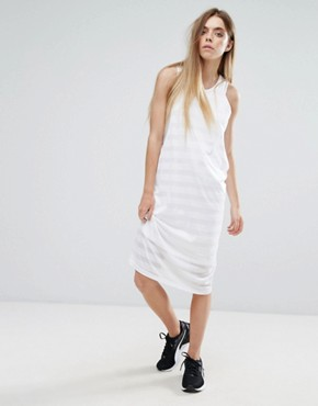 photo Burn Out Tank Dress by Puma, color White - Image 1