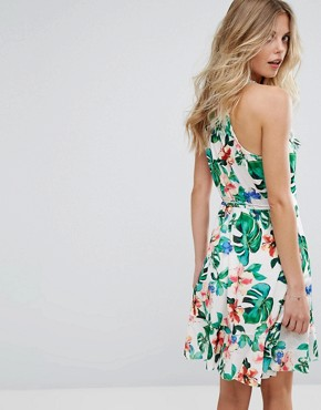 photo Tropical Wrap Dress by Mango, color Tropical Print - Image 2