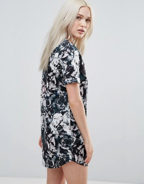 photo Floral Scuba Dress by Neon Rose, color Multi - Image 2