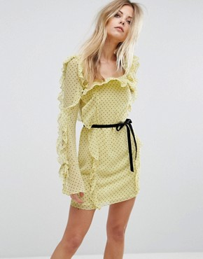 photo Milton Mini Dress by Millie Mackintosh, color Sunshine Spot - Image 1