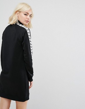 photo Retro Taped Tracksuit Dress by Fred Perry, color Black - Image 2