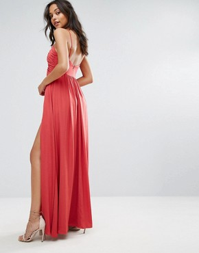 photo Karisimbi Maxi by The Jetset Diaries, color Scarlet - Image 2