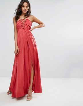 photo Karisimbi Maxi by The Jetset Diaries, color Scarlet - Image 1