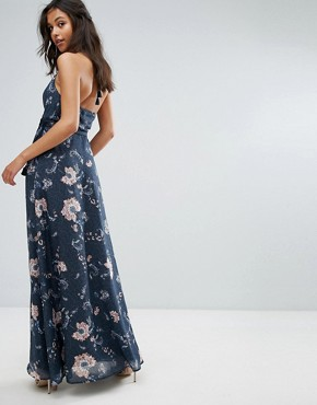 photo Floral Maxi Dress by The Jetset Diaries, color Iman Floral - Image 2