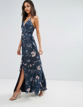 photo Floral Maxi Dress by The Jetset Diaries, color Iman Floral - Image 1