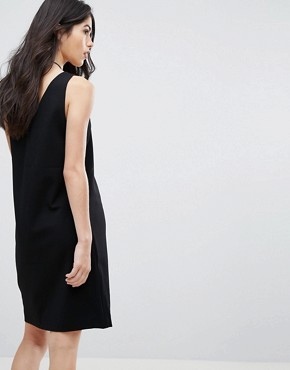 photo V-Neck Dress by Vila, color Black - Image 2