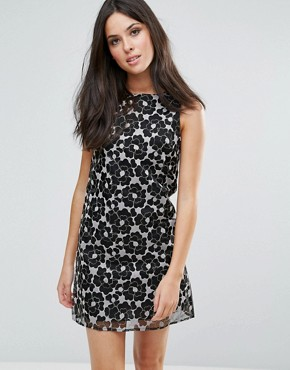 photo Shift Dress by Glamorous, color Black - Image 1