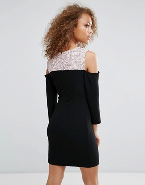 photo Bodycon Dress by Oeuvre, color Pink - Image 2