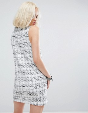 photo Grove Dress by Religion, color White/Black - Image 2