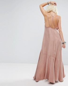 photo Moonlight Maxi Dress by Religion, color Gull Grey - Image 2