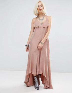 photo Moonlight Maxi Dress by Religion, color Gull Grey - Image 1
