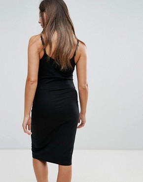 photo Cami Dress by New Look Maternity, color Black - Image 2