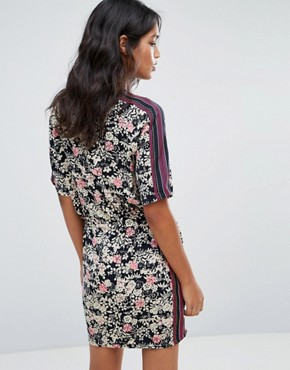 photo Sily Floral Print Dress by Maison Scotch, color Multi - Image 2