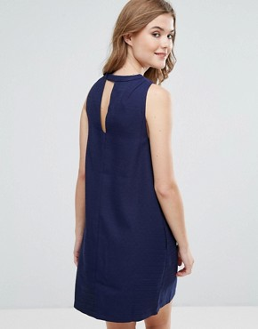 photo Sleeveless Shift Dress by Lavand, color Blue - Image 2