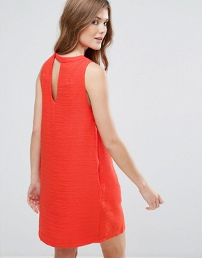 photo Sleeveless Shift Dress by Lavand, color Red - Image 2