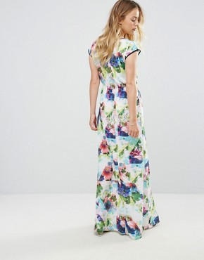 photo Floral Maxi Dress by Lavand, color Multi - Image 2