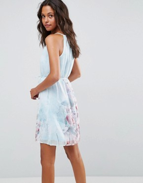 photo Floral Strappy Shoulder Dress by Lavand, color Multi - Image 2