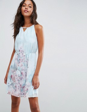photo Floral Strappy Shoulder Dress by Lavand, color Multi - Image 1