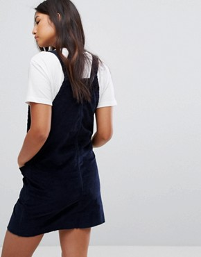 photo Denim Cami Dress by Levis Line 8, color Navy Blazer - Image 2
