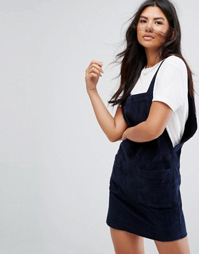 photo Denim Cami Dress by Levis Line 8, color Navy Blazer - Image 1