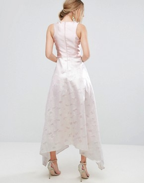 photo Pearl Metallic Full Dress by Coast, color Pink - Image 2
