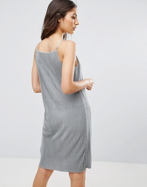 photo Peno Jersey Sheen Slip Dress by Only, color Shadow - Image 2