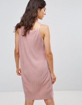 photo Peno Jersey Sheen Slip Dress by Only, color Paul Mauve - Image 2