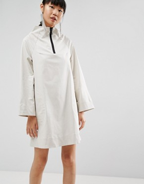 photo Funnel Neck Dress by ASOS WHITE, color Cement - Image 1