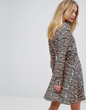 photo Dars Tiger Print Dress by Supertrash, color Tiger - Image 2