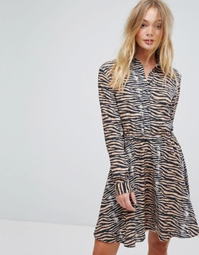 photo Dars Tiger Print Dress by Supertrash, color Tiger - Image 1