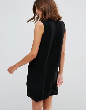 photo Emma Sleeveless Shift Dress by Just Female, color Black - Image 2