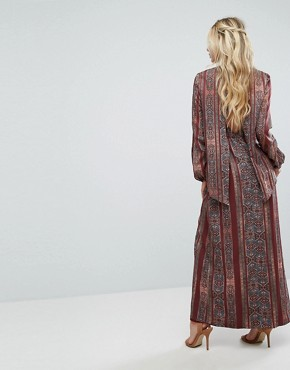 photo Redwood Maxi Dress by The Jetset Diaries, color Persian Stripe - Image 2