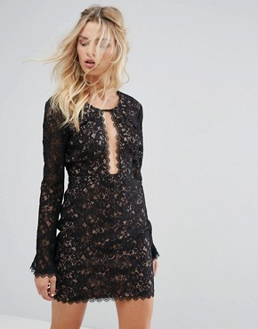 photo Zodiac Mini Dress by The Jetset Diaries, color Black - Image 1
